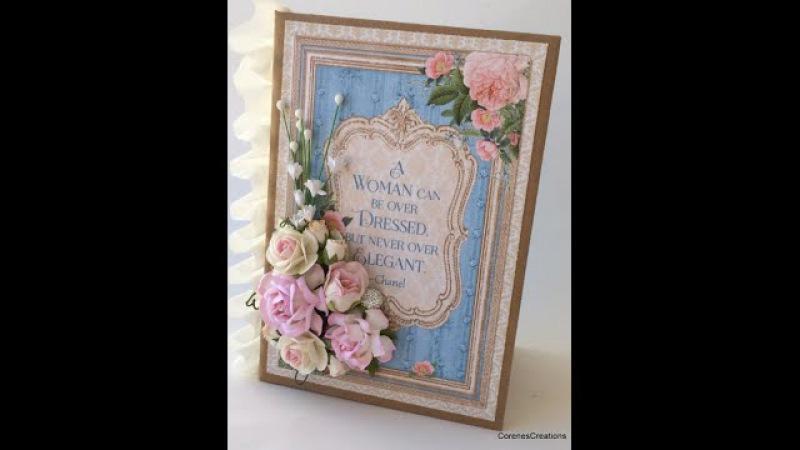 4x6 G45 Mini Album Tutorial~Gilded Lily Wild Orchid Crafts
