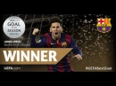 Lionel Messi vs Boateng and Neuer ● UEFA'S GOAL OF THE SEASON