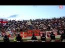Фанаты Спартака поют на белградском дерби, част 2 ЦСКА сосать Ебать коней