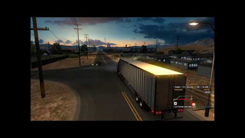 American Truck Simulator Рейс 40 Scania T Series (RJL) 6x4 ATS HD-1080p