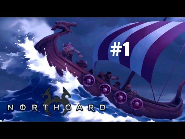 Обзор игры Northgard.Развиваем своё поселение 1