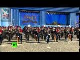 Обалденно подобранная песня в конце Парада Победы!