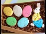 Easter Bunny and eggs cookies. My little bakery.