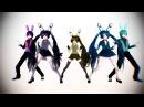 Аниматроники пять ночей с фредди аниме танцы