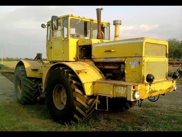 Легендарный трактор К-700, К-701✅«Кировец» на бездорожье. Вот это мощь