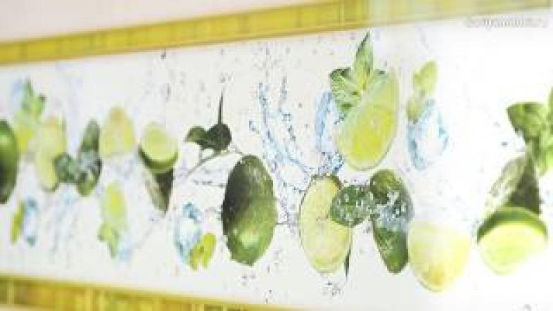 Краш-тест глянцевых стеновых панелей для кухни