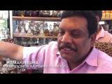 Парфюмер Рамакришна на рынке в Мапсе  ТВой ГОА  TV GOA