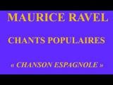 Cecilia  Bartoli - Maurice Ravel - Chants populaires - concert du 30 octobre 1992 -