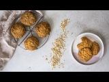 Рецепт полезного овсяного печенья - Простые ингредиенты, легкое приготовление. Healthy Oatmeal Cookies - Simple Ingredients, Easy to Make