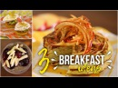 3 Sweet Savory Breakfast Ideas: Pancakes, Pudding Eggs Benedict! 28 Day Reset friendly!