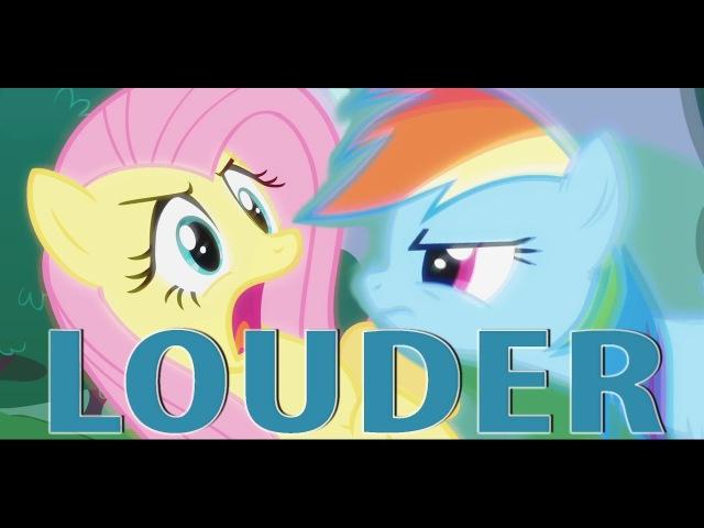 Yo Shy, Yell It Loud [PonyDub]