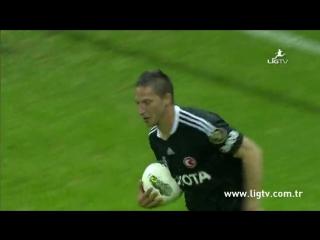 2011 - 2012 Sezonu - Galatasaray-Beşiktaş dakika 86 gol Filip Holosko