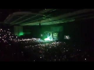 Imagine Dragons_Radioactive_концерт Москва_17.07.2017