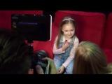 Дочь Глюкозы Лидия на детском шоу январь 2017 года