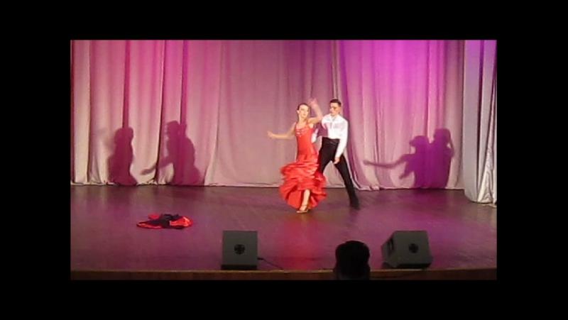 Юбилей Вернисажа. В ритме танго. Роман и Елена.