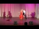 Юбилей Вернисажа В ритме танго Роман и Елена