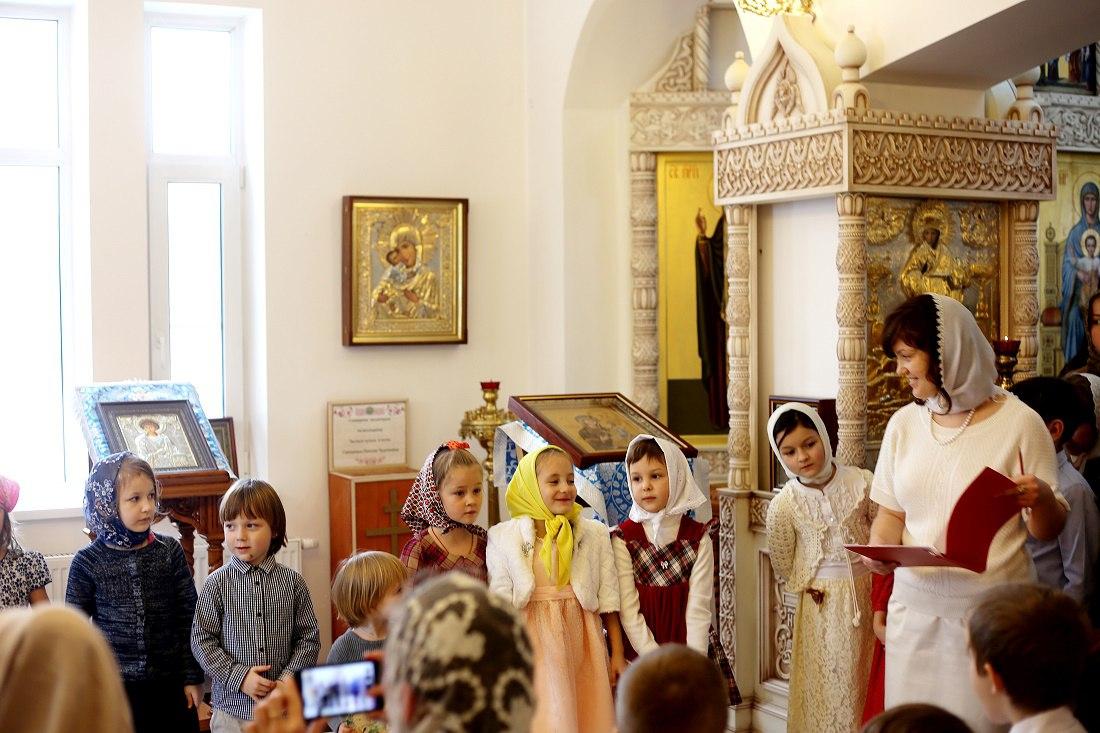 Храм иконы Божией Матери «Скоропослушница» в п. Марьино отметил престольный праздник
