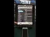штатное головное устройство ZEST в стиле ТЕСЛА на андроиде