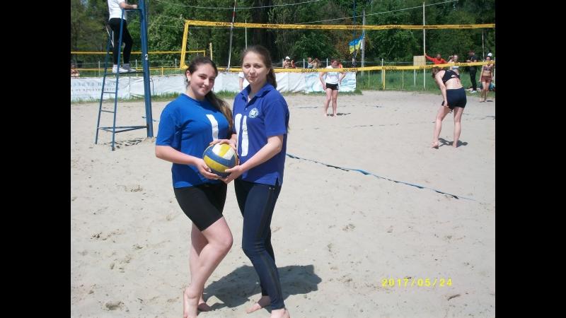 Пляжный волейбол: В. Сорокина - А. Руцкая