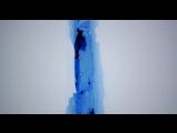 Полет вдоль трещины в шельфовом леднике Бранта