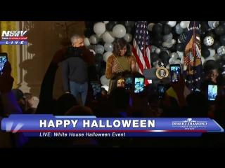 Зомби-танец от президента и первой леди