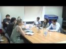 Встреча Главы СММ ООН по правам человека Фионы Фрейзер с представителями ЛНР на переговорах в Минске