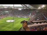 Гимн Ювентуса на игре против Монако 09.05.2017