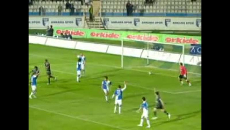 2008 - 2009 Sezonu - Ankaraspor-Beşiktaş dakika 71 gol İbrahim Toraman