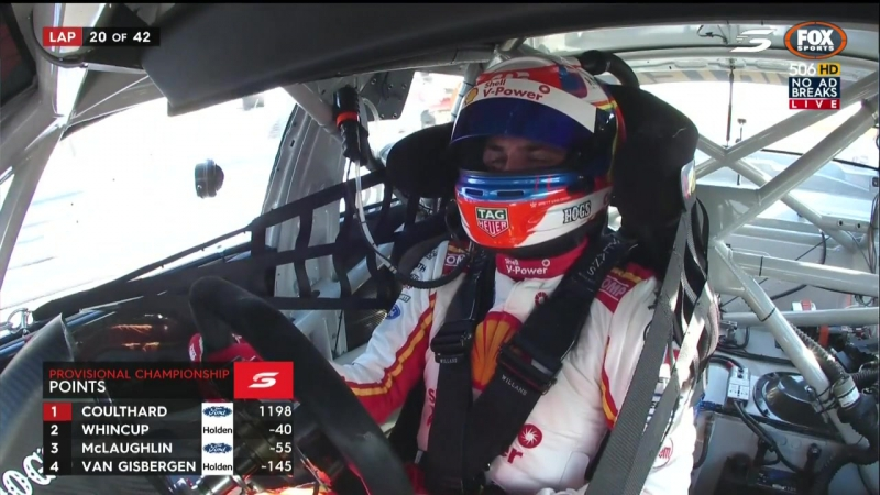 Supercars 2017. Round 6. Darwin. Race 1