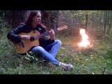 Bathory - Man of Iron (Acoustic guitar cover Pavel