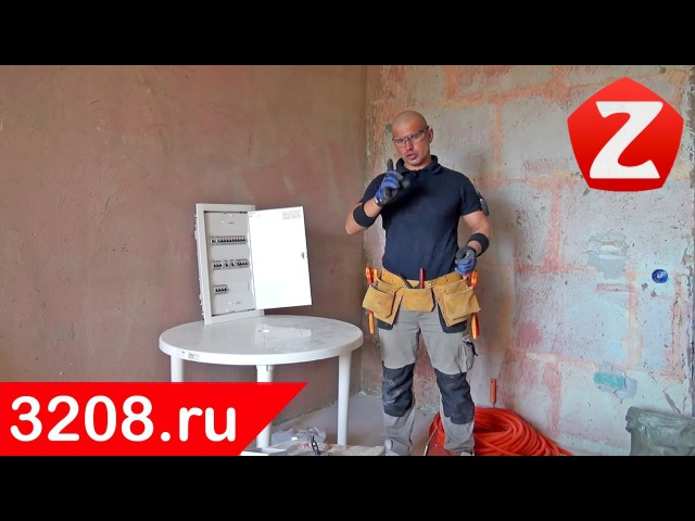 Сборка распределительного щита от Алексея Земскова