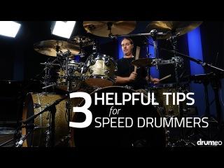 3 Helpful Tips For Speed Drummers by Derek Roddy - Drum Lesson