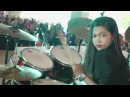 Bon Jovi It's My Life LIVE Drum Cover by Nur Amira Syahira SOUQ