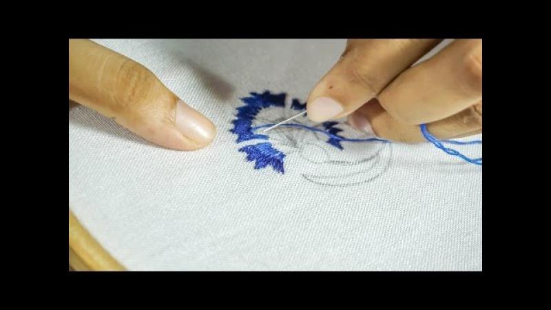 Thread Embroidery Designs | DIY Hand Stitching | HandiWorks 95