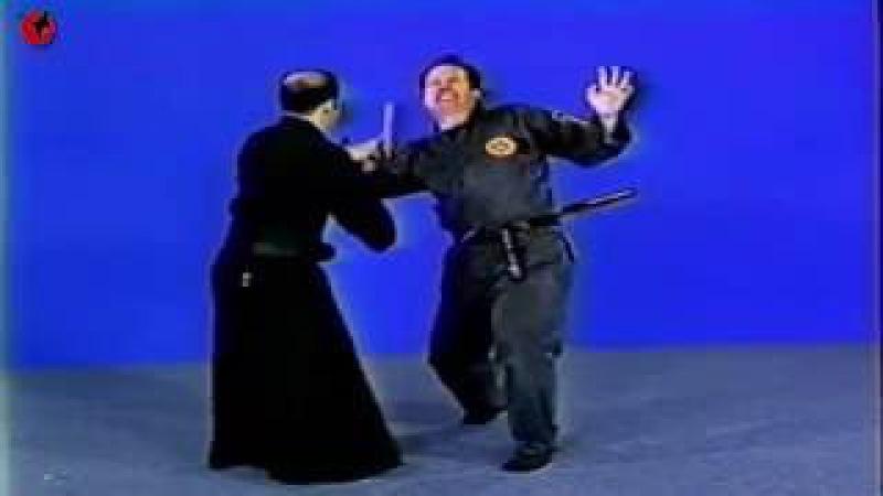 Soto Tanemura - Hanbo Jutsu Advanced 13 - Koshi Ori Ura Kata 1 (Ханбо-джитсу - продвинутая техника)