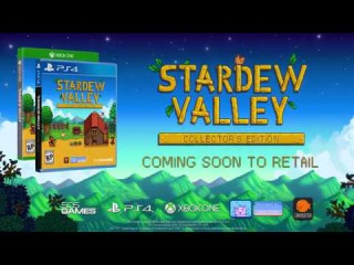 Stardew Valley Collector's Edition Retail Announcement