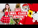DIY Adorable Mrs. Claus Apron | Easy Christmas Craft 2015
