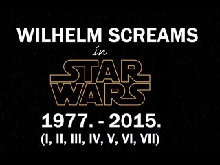 Every Wilhelm Scream in Star Wars (I-VII) [HD]