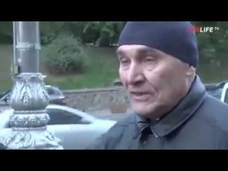 Ватный журналист попробовал взять интервью у мужчины из Донецка