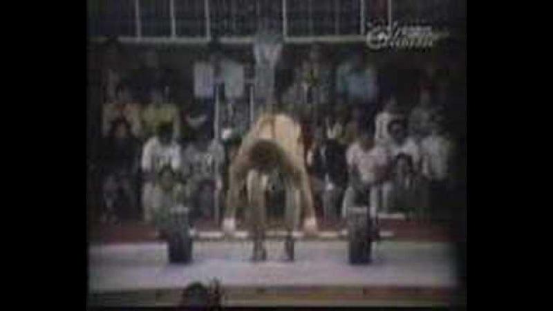 Vasily Alexeev - 230kg. (507lb.) Clean Press