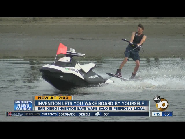 Wake Solo: The future of wakeboarding?