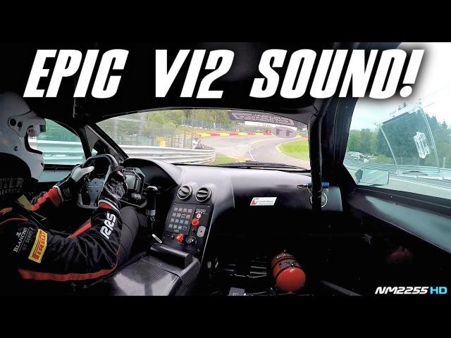 Lamborghini Murcielago 670 R-SV GT1 OnBoard at Spa-Francorchamps - EPIC Sounds!