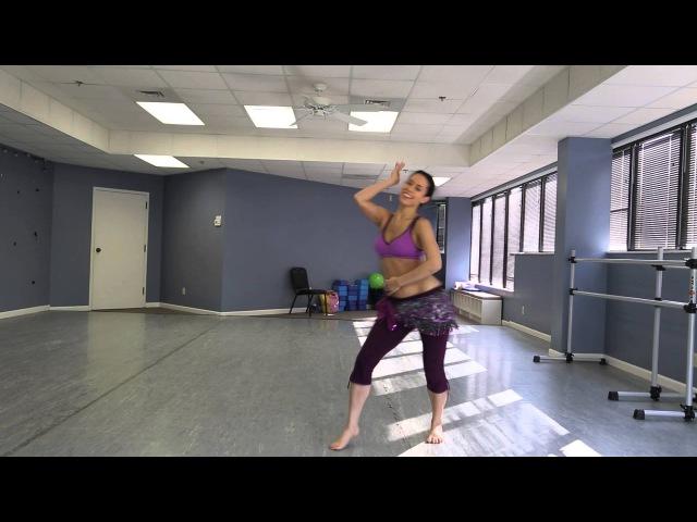 Ameera Paone - Practice Baladi Choreography