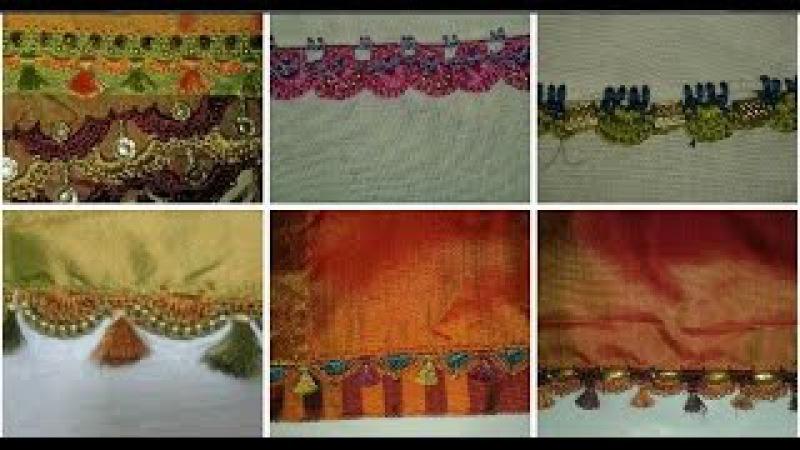 Saree Pallu Knots Design Video