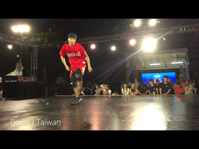 DYZEE - BOJIN - SKIM - HONG 10 FreeStyle Session Singapore 2017 - Judge Showcase Freshit Tv