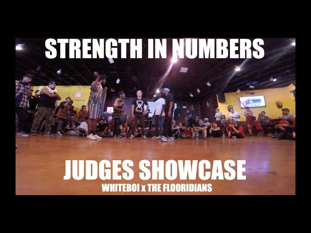 STRENGTH IN NUMBERS 5v5 | Whiteboi x The Flooridians | Judges Showcase