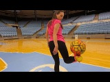 Freestyle Soccer Trick Shots w Indi Cowie