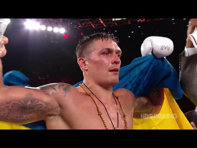 Oleksandr Usyk vs. Thabiso Mchunu.: WCB Highlights (HBO Boxing)