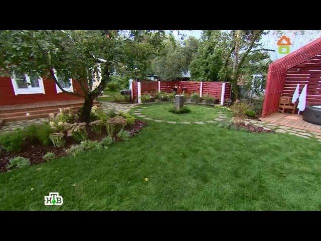 Дачный ответ: Сад-водоворот с летней кухней иаптекарским огородом