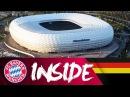 Hinter den Kulissen der Allianz Arena - Teil 1 Inside FC Bayern